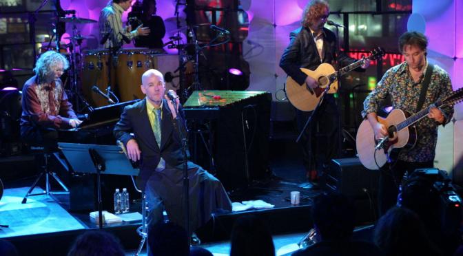 "R.E.M.: esce domani ""Unplugged: The Complete 1991 And 2001 Sessions"""