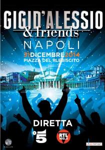 "Manifesto ""Gigi D'Alessio & Friends"""