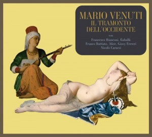 "Mario Venuti, cover de ""Il tramonto dell'occidente"""