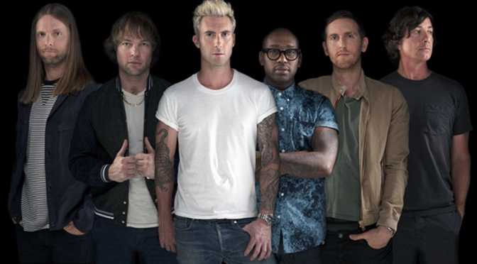 "Maroon 5, lyric video di ""Animals"""
