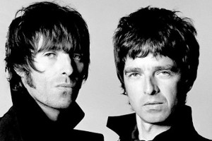 I fratelli Noel e Liam Gallagher