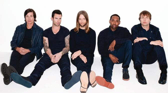 "Maroon 5, da domani in radio ""Sugar"". Adam Levine performer agli Oscar"