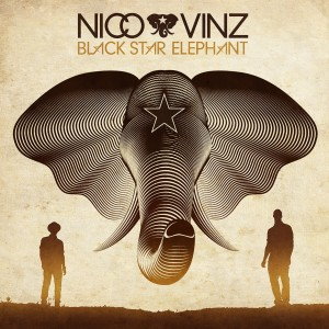 "Nico & Vinz, cover dell'album ""Black Star Elephant"""