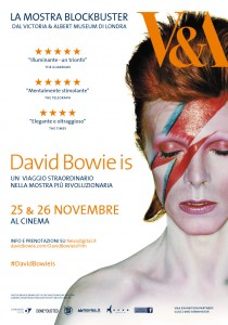 "Locandina della mostra ""David Bowie Is"""