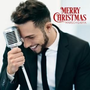"Marco Carta, cover dell'EP ""Merry Christmas"""