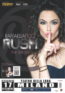 """Locandina di """"Rush - The Show"""", il 17 dicembre a Milano"""