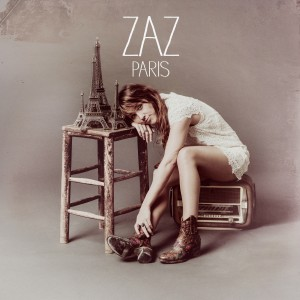 "Zaz, cover dell'album ""Paris"""