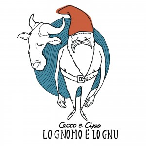 "Cover dell'album ""Lo gnomo e lo gnu"""