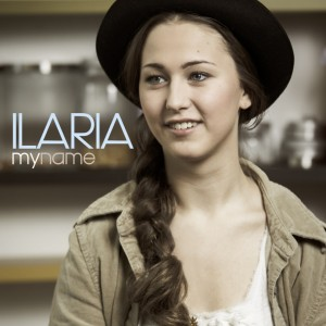 "Ilaria, cover dell'EP ""My Name"""