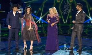Laura Pausini e gli altri coach de La Voz Mexico