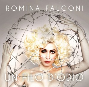 "Romina Falconi, cover dell'EP ""Un filo d'odio"""