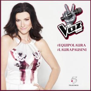 """Laura Pausini, giudice nella versione spagnola di """"The Voice"""". Foto: Profilo Facebook"""
