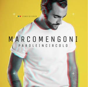 "Marco Mengoni, cover dell'album ""Parole in circolo"""