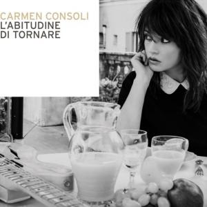 """Carmen Consoli, cover dell'album """"L'abitudine di tornare"""""""