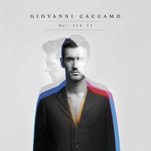 "Giovanni Caccamo, cover dell'album ""Qui per te"""