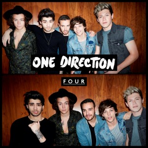 "One Direction, cover dell'album ""Four"""