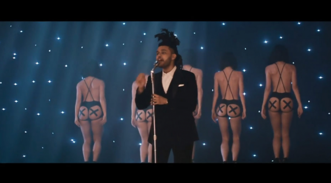 "The Weeknd, video di ""Earned It"" da ""Fifty Shades Of Grey"""