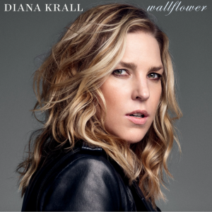 "Diana Krall, cover dell'album ""Wallflower"""