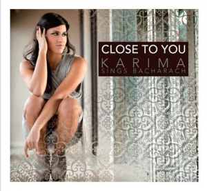 "Karima, cover dell'album ""Close To You - Karima Sings Bacharach"""