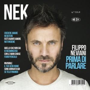 "Nek, cover dell'album ""Prima di parlare"""