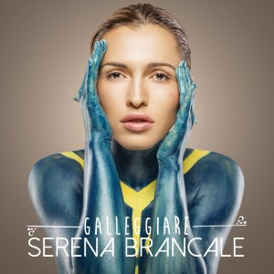 "Serena Brancale, cover dell'album ""Galleggiare"""