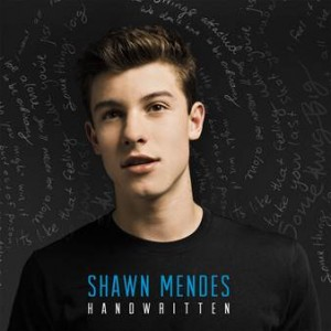 "Shawn Mendes, cover dell'album ""Handwritten"""