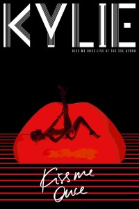"Kylie Minogue, cover del cofanetto ""Kiss Me Once - Live At The SSE Hydro"""