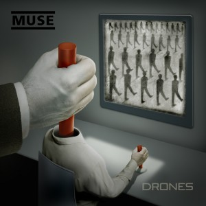 "Muse, cover dell'album ""Drones"""