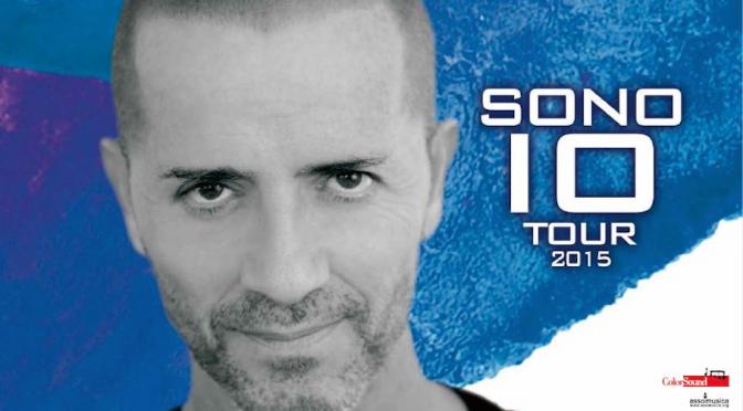 "Raf, parte ad aprile ""Sono Io Tour 2015"""