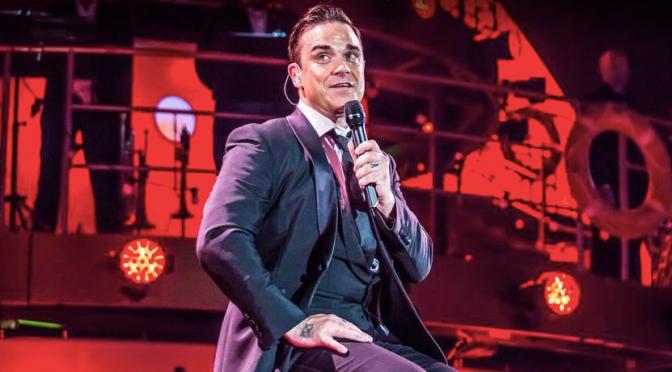 Robbie Williams in concerto al Rock In Roma il 7 luglio