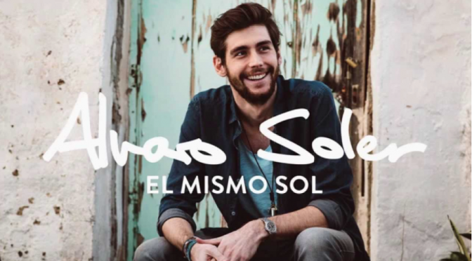"Alvaro Soler, dal 24 aprile il singolo ""El mismo sol"""
