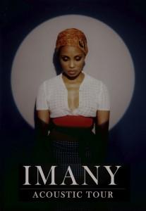 Imany acoustic tour