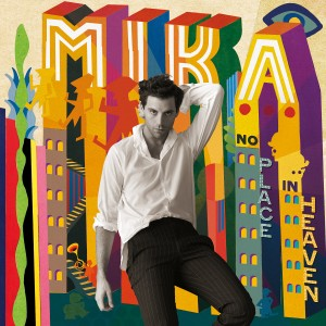 "Mika, cover dell'album ""No Place in Heaven"""