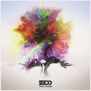 "Zedd, cover dell'album ""True Colors"""