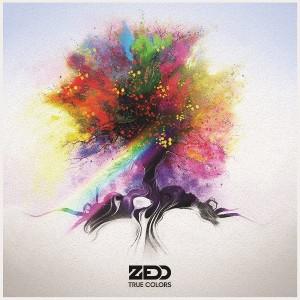 "Zedd, cover dell'album ""True Colors"""