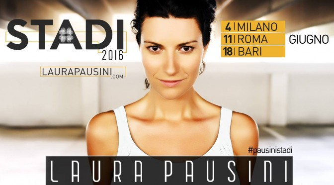 Laura Pausini: nuovo album e tour negli stadi