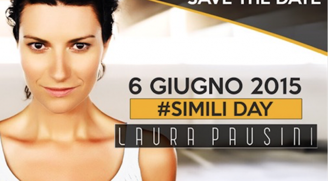 Pausini: il 6 giugno #SimiliDay a Milano, Roma, Bari