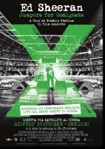 Ed Sheeran film concerto