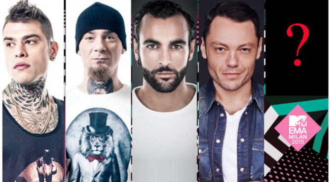 "MTV EMA 2015: nomination per ""Best Italian Act"""