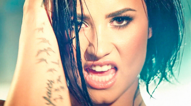 "Demi Lovato: action movie per il video di ""Confident"""