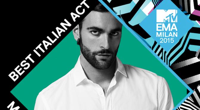 "MTV EMA 2015: Marco Mengoni è ""Best Italian Act"""