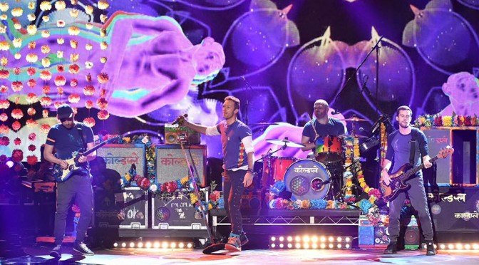 Coldplay: oggi su Facebook live stream del nuovo album