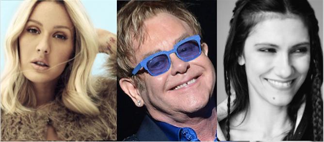 Sanremo: arrivano Ellie Goulding, Elton John, Elisa