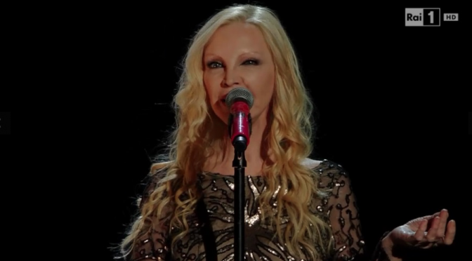 Patty Pravo Sanremo 2016