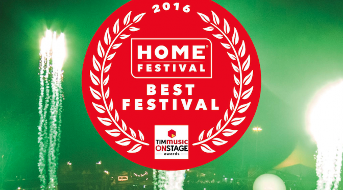 Home Festival Onstage Awards