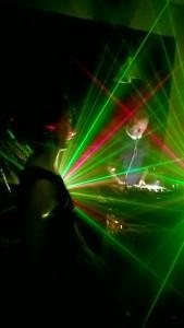 Melancholic DJ set.