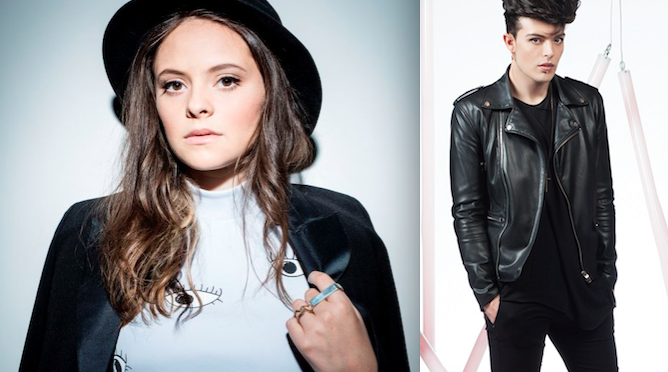 Michielin e The Kolors agli MTV Awards 2016