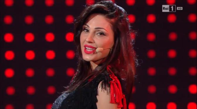 """Anna Tatangelo come Madonna a """"I migliori anni"""""""