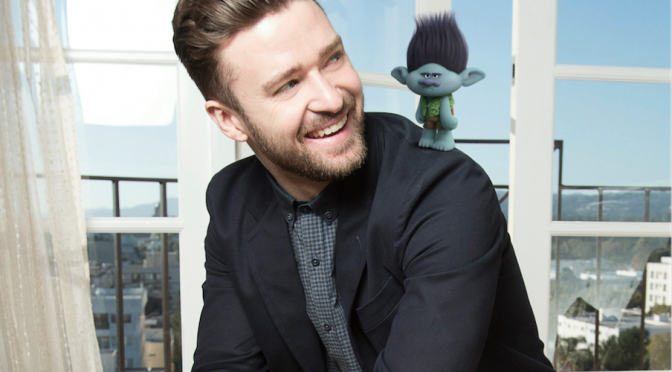 "Justin Timberlake canta ""Can't Stop The Feeling!"" per ""Trolls"""
