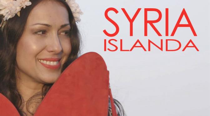 """Syria canta il grande amore in """"Islanda"""""""